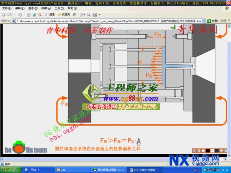 注塑模具设计理论基础视频教程送大量电子书