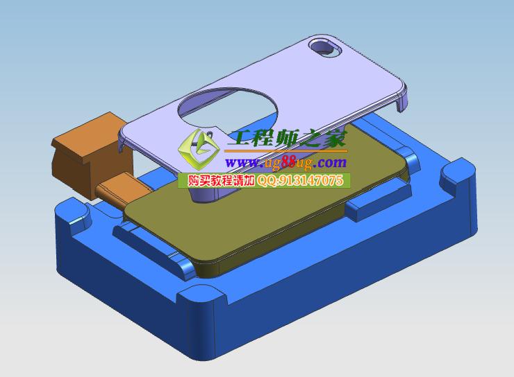 0工厂实战全3d模具设计及经典结构设计赠分模